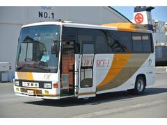 ヒノレインボー小型バス 7M 26名 フルデッカ スイングドア 本州仕入れ