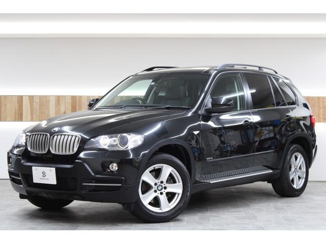 BMW X5 3.0si 4WD 黒革 サンルーフ 純正HDDナビ Bカメラ キセノンライト シートヒーター 正規ディーラー車 純正キーレスキー2個 VIPERセキュリティ 点検整備渡し