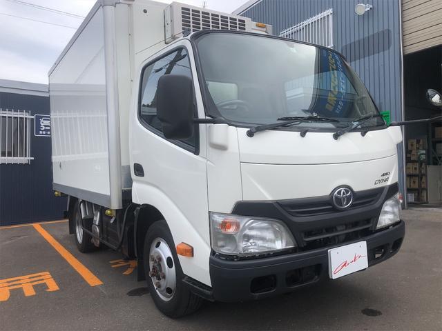 トヨタ ダイナトラック  2t トヨタ車体製 冷蔵冷凍車ディーゼル4WD-32度+35度 箱内寸 長さ301幅169高さ150