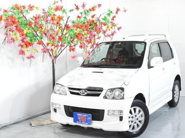 ダイハツ カスタムX ターボ 4WD スマートキー 4年保証