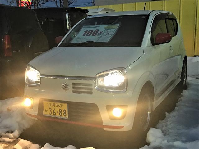 スズキ アルトターボRS  4WD フルセグメモリーナビ スマートキー エンジンスターター 走行距離5.5万キロ