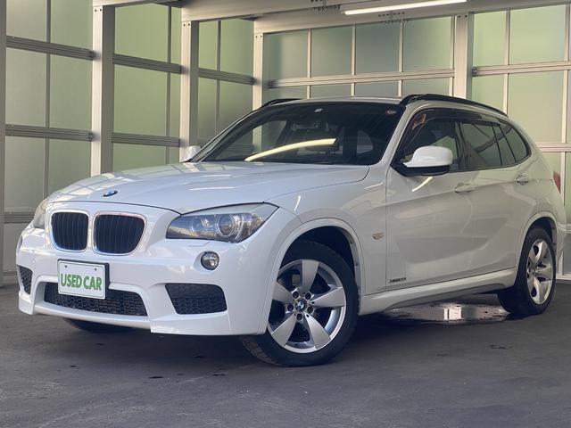 BMW X1 xDrive 20i Mスポーツ 4WD ETC 横滑り防止装置 HIDヘッドライト 純正アルミホイール スマートキー イモビライザー フォグライト