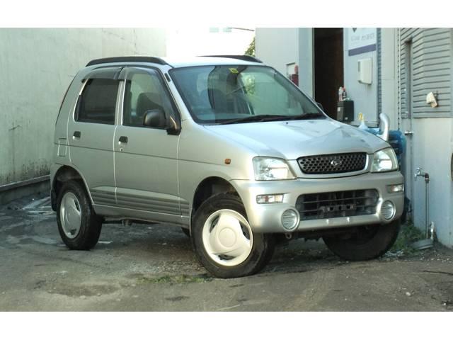 ダイハツ CL 4WD ターボ 背面タイヤ キーレス