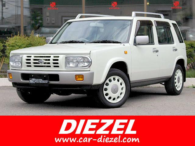 日産 タイプII 4WD AT 背面タイヤ ルーフレール 本州仕入