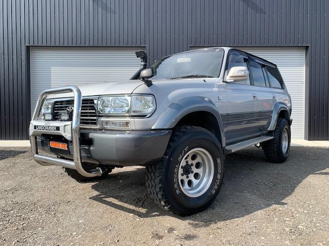 トヨタ ランドクルーザー80 VXリミテッド 4WD 後期 リフトアップ シュノーケル