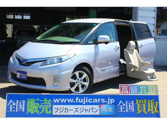トヨタ X 福祉車輌 二列目電動サイドリフト 4WD