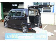 N BOX+カスタムG 福祉車両 アルマス スロープ 4WD