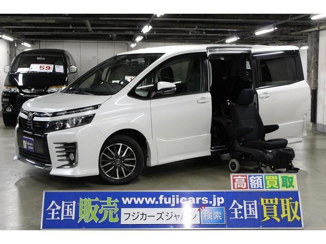 トヨタ ZS ウェルキャブ 脱着サイドリフト 4WD