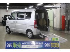 エブリイワゴンウィズ車いす移動車 後席付 電動固定4WD
