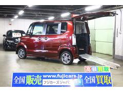 N BOX+カスタムG 車イス仕様車 4WD リアスローパー 電動ウィンチ