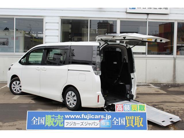 トヨタ X 福祉車輌 ウェルキャブ タイプ1 車イス二基固定 4WD