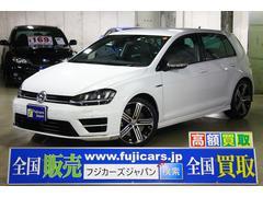 VW ゴルフRR 4WD ターボ 本革 シートヒーター 純正HDDナビ