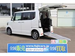 N BOX+カスタムG 車イス仕様 スローパー 電動ウィンチ 4WD