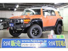 FJクルーザーカラーパッケージ リフトアップ 電動ウィンチ 4WD