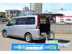 セレナ福祉車輌 リアリフト 4WD スマートキー 純正HDDナビ