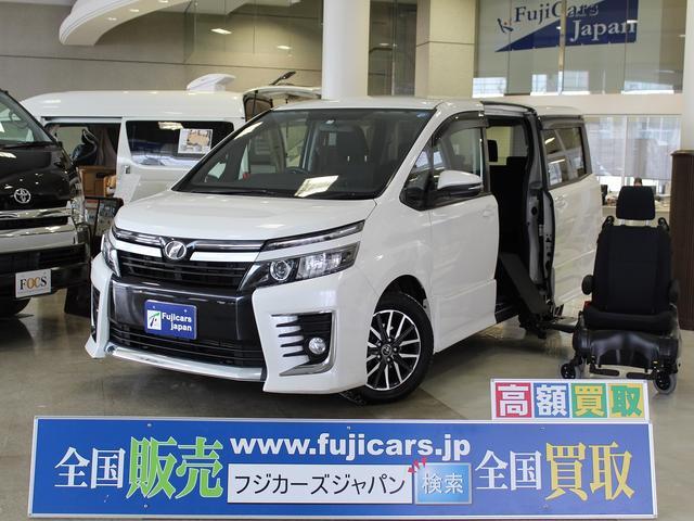 トヨタ 福祉車輌 ZS ウェルキャブ 脱着式サイドリフト 4WD