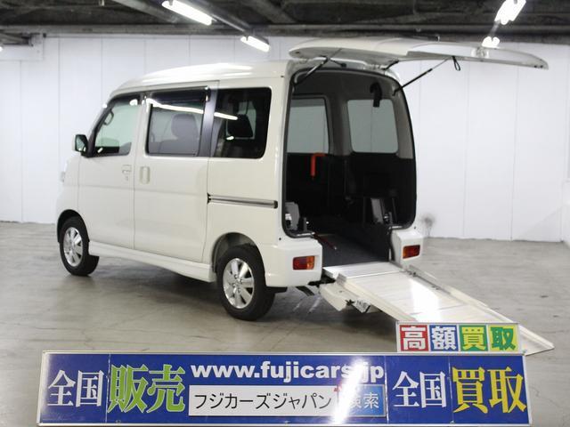 ダイハツ 福祉車輌 フレンドシップSAIIIスロープ補助席シート4WD