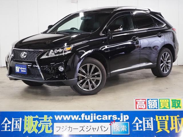 レクサス RX350 Fスポーツ 4WD 黒革 サンルーフ 九州仕入