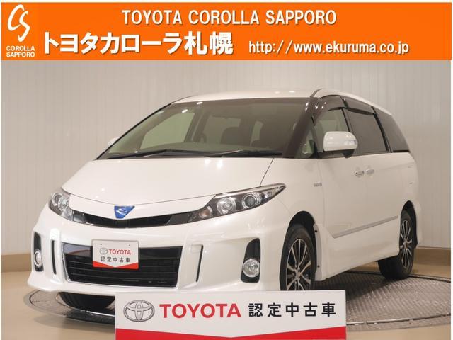 トヨタ アエラス プレミアムエディション 4WD 1オーナー車・HDDナビ・バックモニター・ETC・エンジンスターター付