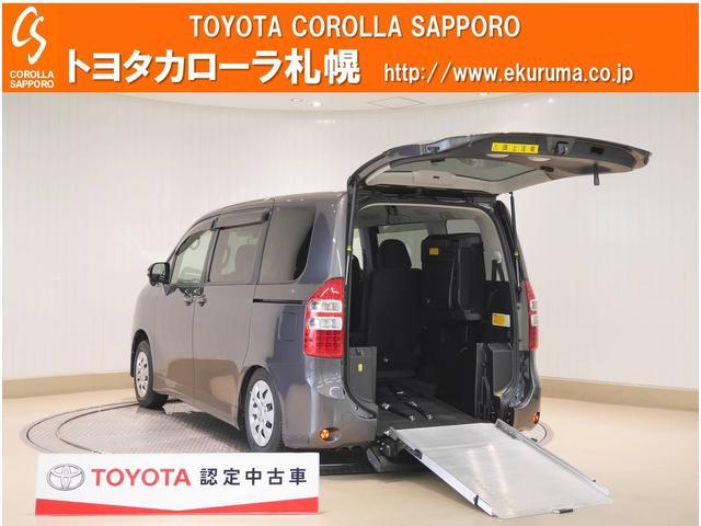 トヨタ ノア X Lセレクション ウェルキャブスロープII3列目S付4WD メモリーナビ・バックモニター・HIDライト・寒冷地仕様車