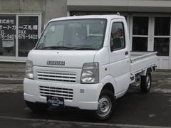 キャリイトラックKC 4WD パワステ 3方開 KCエアコン