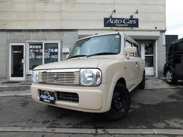 スズキ アルトラパン GセレクションII 4WD キーレスエントリー シートヒーター ベンチシート CD MD