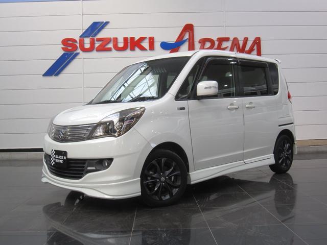 スズキ ブラック&ホワイトII4WDセットオプション装着車両側Pスラ