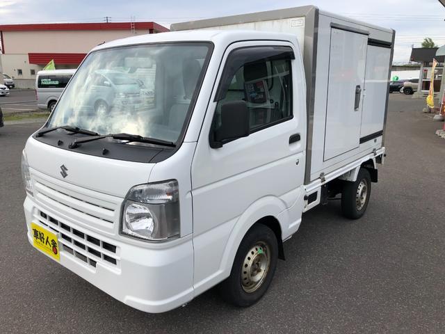 スズキ  保冷箱車/4WD/オートマ/AC/PS/PW/キーレス