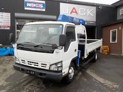 エルフトラック3t ワイドロング ZR293 タダノクレーン