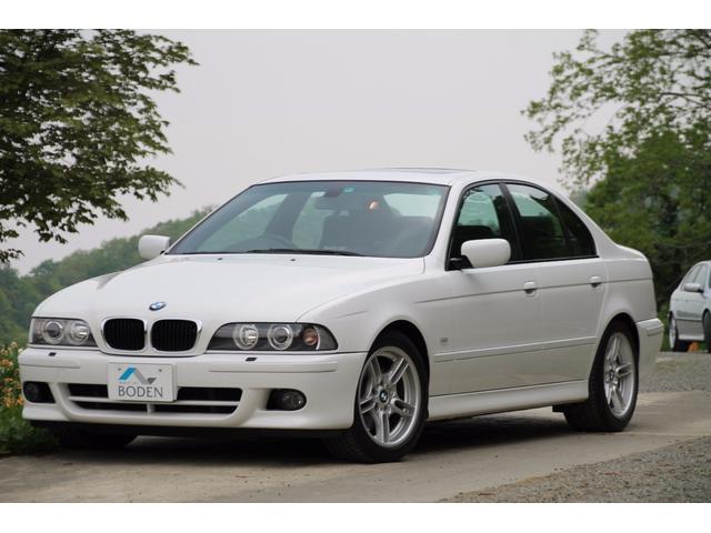 BMW 530i Mスポーツ最終1オーナーサンルーフモール同色塗装