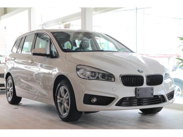 BMW 218d xDriveグランツアラー ACC純正HDDナビ