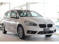BMW218d xDriveグランツアラー ACC純正HDDナビ