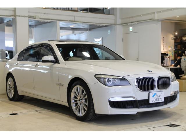 BMW 750LiリアエンターテイメントSR地デジベージュ革Bカメラ