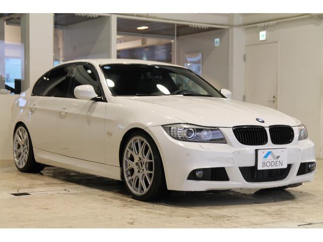 BMW 335iMスポーツ左H車高調マフラーカッターBBS19AW