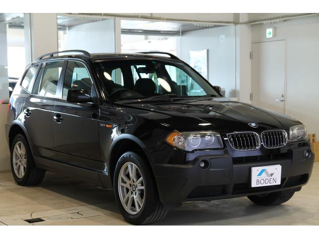 BMW X3 3.0i社外ナビ地デジMサーバーUSB端子17イン...