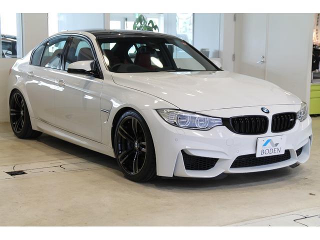 BMW M3KW車高調EDC対応DCT車庫保管赤革19AW地デジ