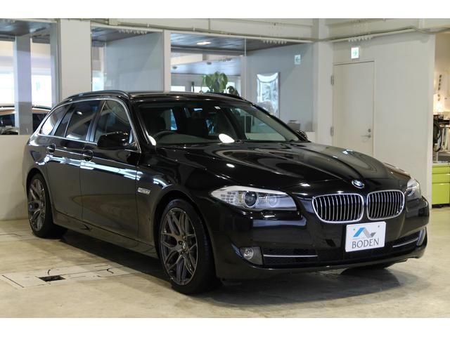 BMW 523dBPハイラインP社外19AW黒革地デジBカメラナビ