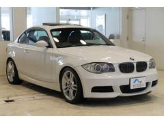 BMW135i赤革6MT直6ターボSR純正ナビETC純正18AW