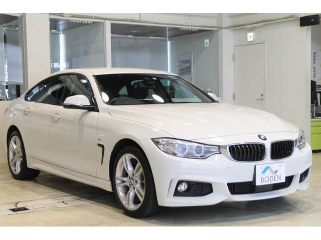 BMW 4シリーズ 420i xDriveグランクーペ Mスポーツ ACC地デジ電動バックドアBカメラ車線変更警告ミラーETC純正18AW