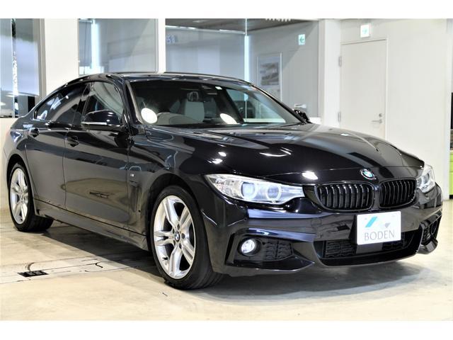 BMW 4シリーズ 420i xDriveグランクーペ Mスポーツ ヘッドアップディスプレイ前後カメラ白革Harman/Kardon