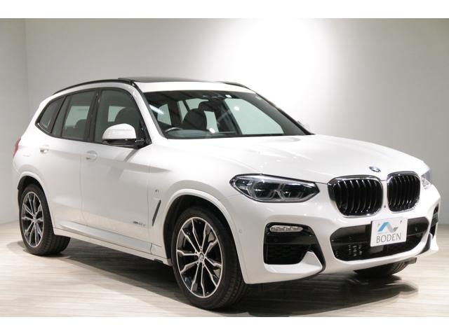 BMW X3 xDrive 20d Mスポーツ デビューPKG純正20AWアンビエントライトSR全周囲カメラACCディスプレイキー