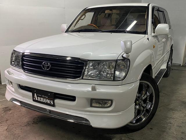 トヨタ ランドクルーザー100 VXリミテッド 誕生50周年記念特別仕様車 4WD エンスタ キーレス ナビ ヒッチメンバー