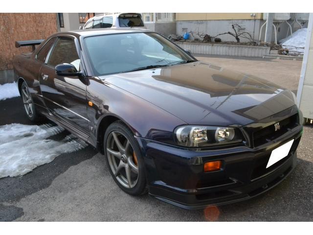 日産 GT-R Vスペック ミッドナイトパープルII
