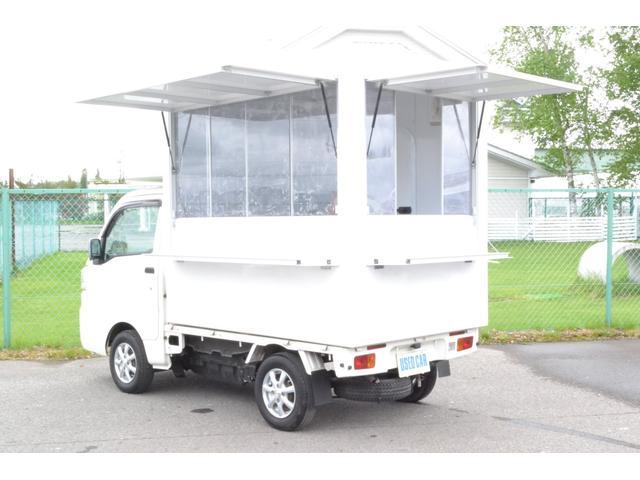 ダイハツ  4WD キッチンカー 移動販売車 加工車登録