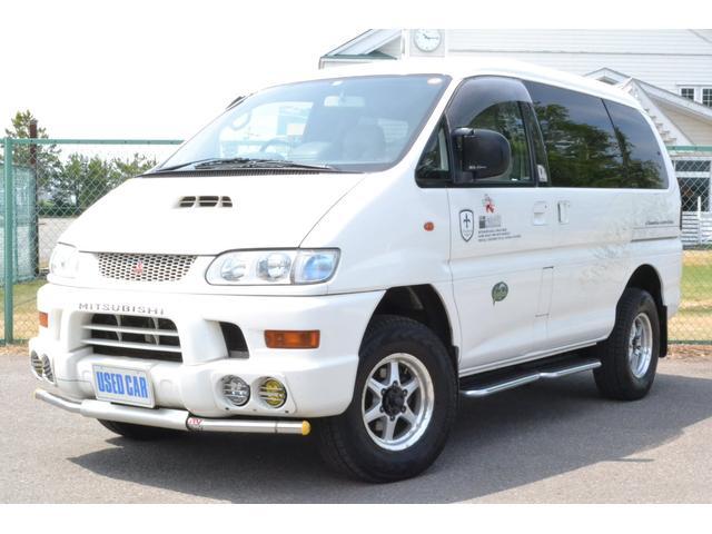 三菱 シャモニー 4WD ディーゼルターボ 軽油 新車1オーナー
