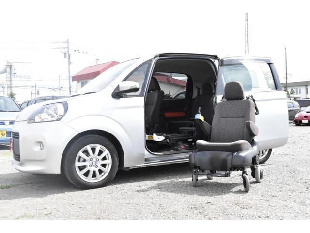 トヨタ ポルテ X サイドアクセス車 Aタイプ 電動脱着シート仕様