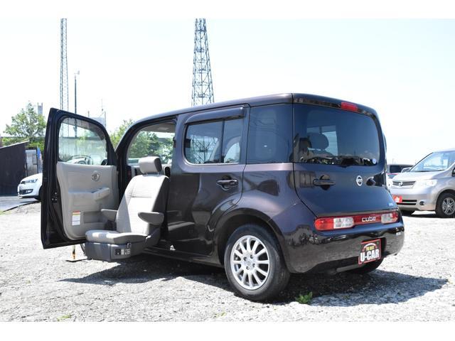 日産 キューブ 15X FOUR Mセレクション 助手スライドアップシート 4WD