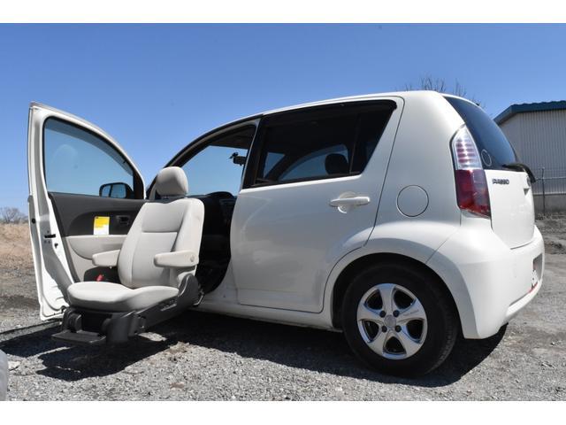 トヨタ パッソ X 助手席リフトアップシート車 Aタイプ