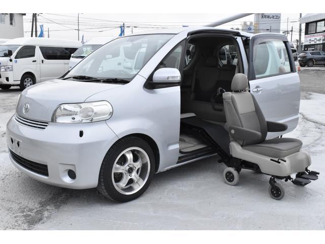 トヨタ ポルテ 130i Cパッケージ サイドアクセス車 脱着シート仕様Aタイプ 手動介護式