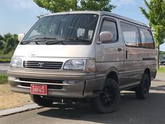 ハイエースワゴンSカスタムLTD 4WD 4ナンバー ナビ TV エンスタ
